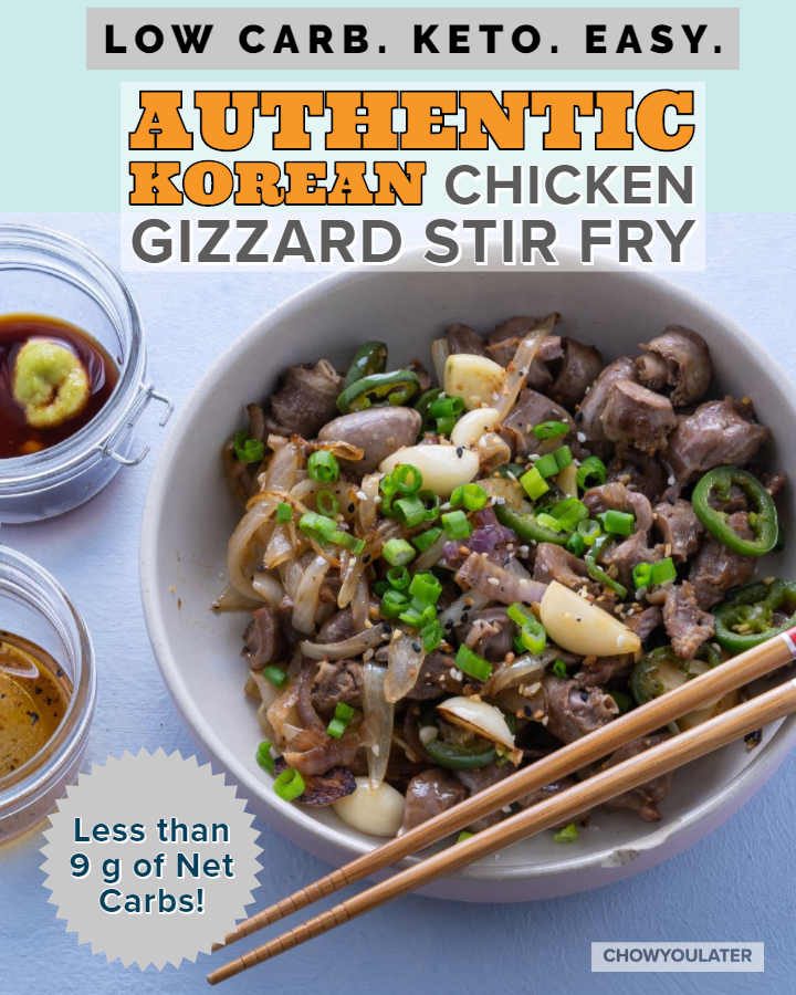 Chicken Gizzard Stir Fry Featured Image