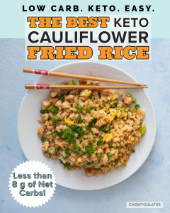 Keto Cauliflower Fried Rice Featured