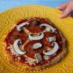 Shirataki Pizza Crust
