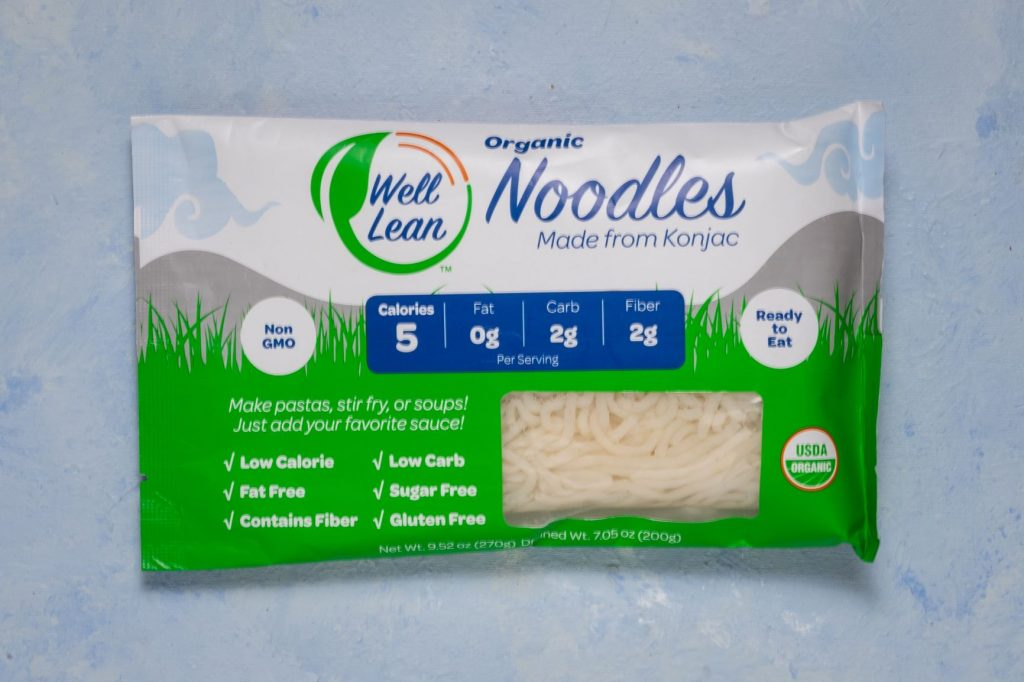 Well Lean Noodles package
